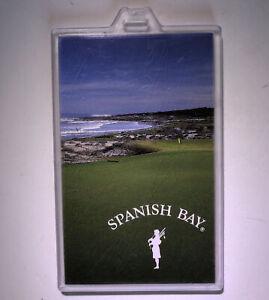 The Links At SPANISH BAY Pebble Beach PGA Professional 1992 ProTag. Bag tag