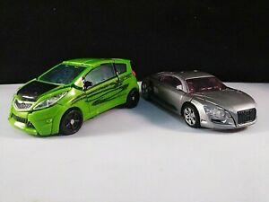 Transformers Lot of 2 Skids and Sideways 2011 Revenge of the Fallen