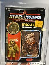 AFA 85 Kenner 1985 Star Wars Warok POTF 92-back Y-NM+ (80-85-85)