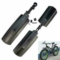 2PC/SET Snow Bicycle Bike Front Rear Mudguard Cycling Fender For Fat Bike T H7B2