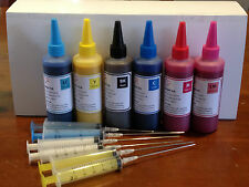 Refill Sublimation Ink for Epson Printer Artisan 837 835 730 725 1410 1430 CISS
