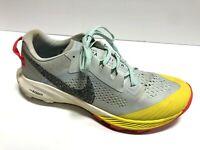 Nike, Men's Air Zoom Terra Kiger 6, Grey Running Shoes Size 9M EUR42.5