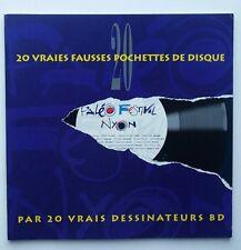 BD TL - 20 Vraies fausses pochettes de disque par 20 vrais dessinateurs BD