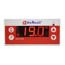 Temperatura digital regulador para pt100 pt1000 KTY relé 230v temperraturregler