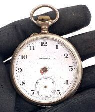 Armosa Hand Manual Vintage 47 mm Doesn'T Works for Parts Pocket Watch