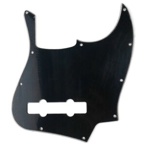 American Standard 5-String Jazz Bass Pickguard 3-Ply Black