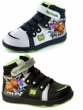 Boots Hook & Loop Fasteners Synthetic Upper Shoes for Boys
