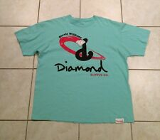 Men's Diamond Supply Co Stevie Williams Graphic T-Shirt Mint Green XL Karmaloop