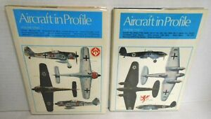 2-Books Aircraft in Profile Vol. 1 in 2-parts 24 Aircraft Profiles #1-24 op