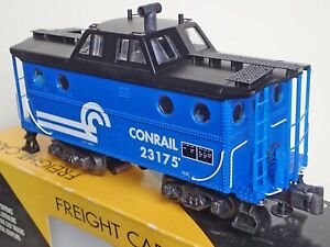 K-LINE K615-1411 CONRAIL N5C Scale Caboose 23175, Lighted, Smoking New