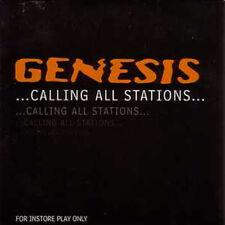 CD GENESIS Calling All Stations UK 11-track advance pro