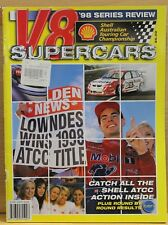 V8 Supercars Shell ATCC Series Review 1998 Rare Very Good Condition