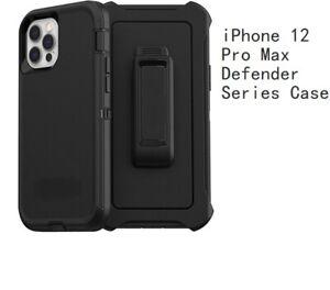 Otter Defender Rugged shockproof Black case for Iphone 12 pro max  6.7inch