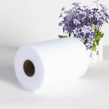 "6""x25Y 100Y Tulle Roll Spool Tutu Wedding Gifts Craft Party Decoration Fabric"