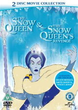 The Snow Queen & Snow Queen's Revenge (2 Movie DVD 1995) NEW SEALED Region 2 PAL
