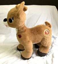 """Build A Bear Workshop Rare 21"""" Giant 50th Gold Clarice Rudolph Stuffed Toy BABW"""
