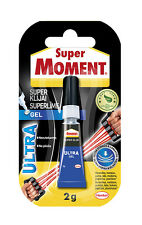 SUPER MOMENT Ultra Gel Flexible Super Glue Strong Instant Adhesive Pattex