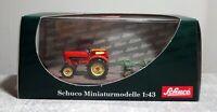 Schuco 1:43 02613 Porsche Diesel Junior mit Scheibenegge neuwertig mit OVP