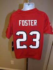 NEW ARIAN FOSTER #23 HOUSTON TEXANS KID CHILD SMALL S SIZE 4 Jersey