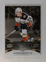 2018-19 UD Upper Deck Ice Exquisite Collection Rookies #R12 Maxime Comtois /299