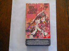 My Fair Lady VHS 2-Tape Set Video Movie 1986 CBS Fox Rated G 170 min