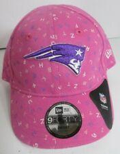 Patriots New England Infant Hat Ball Cap Girls NFL New Era Pink   Alpha    z