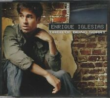 ENRIQUE IGLESIAS Tired of being sorry 2 TRACK CD NEW - NOT SEALED