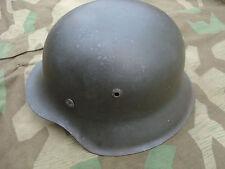 Stahlhelm M42 hkp62 Wehrmacht Gr.Size 55 helmet casque Sächsische Emaillier