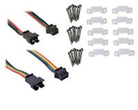 Connectors and Hardware for 5050 LEDs WS2812, APA102, WS2811, SK9822 Striplights