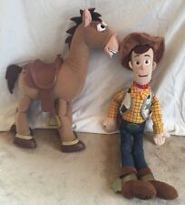 Woody and Horse Bullseye Toy Story, Pixar, Disney Store, Disney Collection