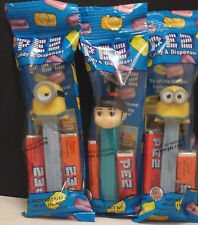 NEW  2015  * DESPICABLE ME - STUART  -  AGNES  - AND DAVE - MINT IN BAGS