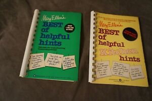 Mary Ellen's Best of Helpful Hints & Best of Helpful Kitchen Hints (Spiral PB)