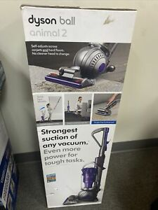 Dyson Ball Animal 2 Upright Vacuum Cleaner Iron/Purple New