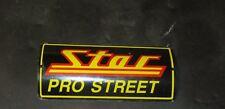 Hayabusa Star Racing Pro Street Exhaust Badge. Metal