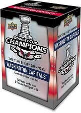 Upper Deck Washington Capitals 2018 Stanley Cup Champs Commemorative 30-Card Set