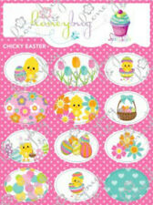 Honeybug MAGNETIC reborn doll PACIFIER Chicky EASTER SPRINKLES sheet 12 decals