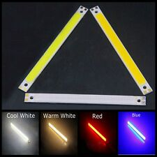 Rojo  120 * 10mm DIY COB LED Panel de luz barra Tiras 10W 12V blanco lámpara