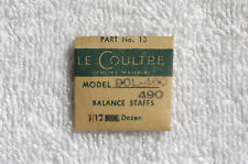 LeCoultre Balance Staffs NOS for 9 OL, 460, & 490