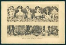 Artist Signed Charles Dana Gibson Lady postcard TC4218