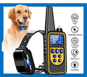 PREMIUM QUALITY⭐Electric Dog Training Collar⭐Anti Bark Obedience Remote Control⭐