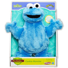 "Cookie Monster Furchester Hotel Cuddle 11""/28cm CBeebies Playskool Toy Doll Blue"