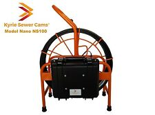 "Nano Cam 100 foot pipe inspection camera, 1.5"" - 4"" pipes, 512 hz Sonde locating"