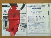 SUPER PATRON PRIMA 1983 N°20.83 JUPE ASYMETRIQUE