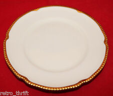 "Castleton China Sovereign White Gold Trim Bread and Butter Plate 16.5cm 6.5"" USA"