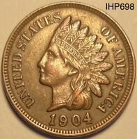 1904 Indian Head Penny Cent