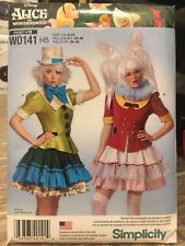 Alice In Wonderland Costume Sewing Pattern-Simplicity W0141 H5