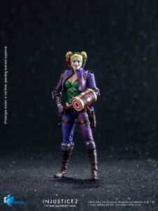 Hiya Toys DC Comics Injustice 2 Harley Quinn Jokers Moll Purple Outfit Exclusive