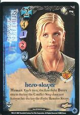 Buffy TVS CCG Limited Class Of 99 Rare Card #124 Buffy Summers