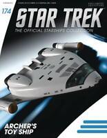 Eaglemoss STAR TREK STARSHIPS FIG MAG #174 Archer's Toy Ship IN STOCK