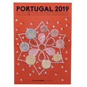 Série 1 Cent à 2 Euro FDC Portugal 2019 - Fleur de Coin